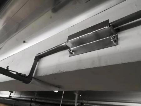 管道装置拐角局部展现