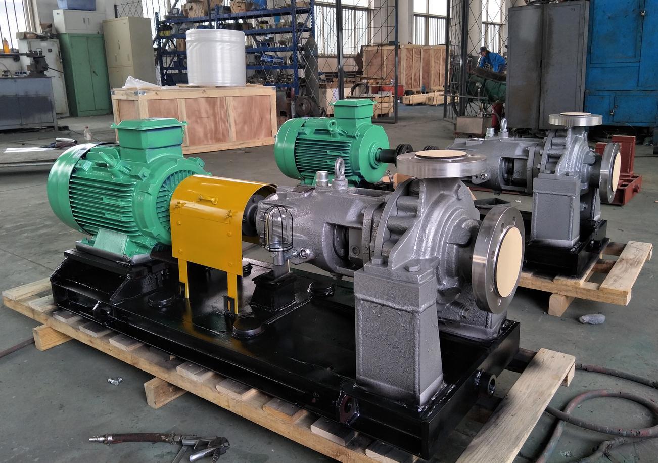 耐腐蚀热水泵,运转原理及过程!