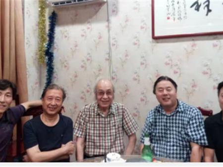 """迎双节""""诗酒话长安""""活动西安市文史艺术研究院举行"""