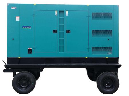 富电康静音移动式系列发电机组 静车音式拖车电站
