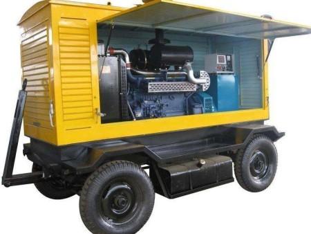 富电康静音移动式系列发电机组 拖车电站