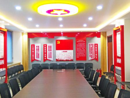 雷火电竞安卓市某初级中学党员活动室一览