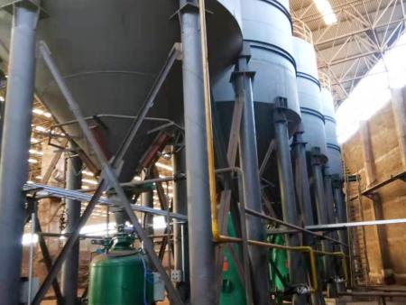 氣力輸送設備較機械輸送設備的優點