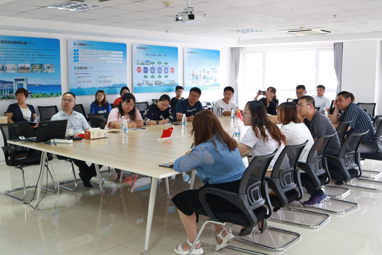 環翠區科技創新孵化器舉辦山東省中小微企業創新競技行動賽前培訓