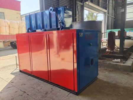 一吨冷凝式燃气锅炉准备发货