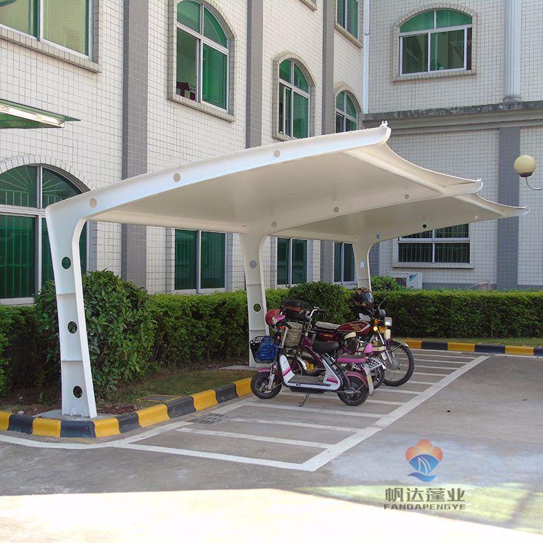 PTFE膜材做停车棚为什么比PVDF膜结构车棚贵?