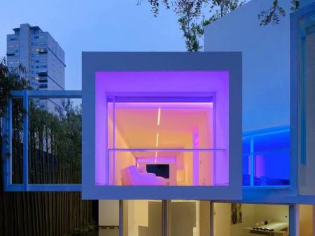 彩色的房子