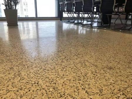 水磨石地板砖的磨抛养护技巧  