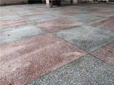 水磨石地面能防尘的原因