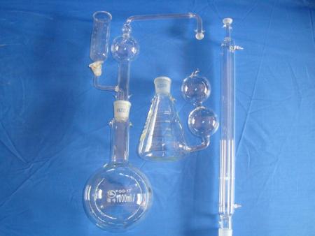 怎么清洁玻璃仪器的难洗污渍?