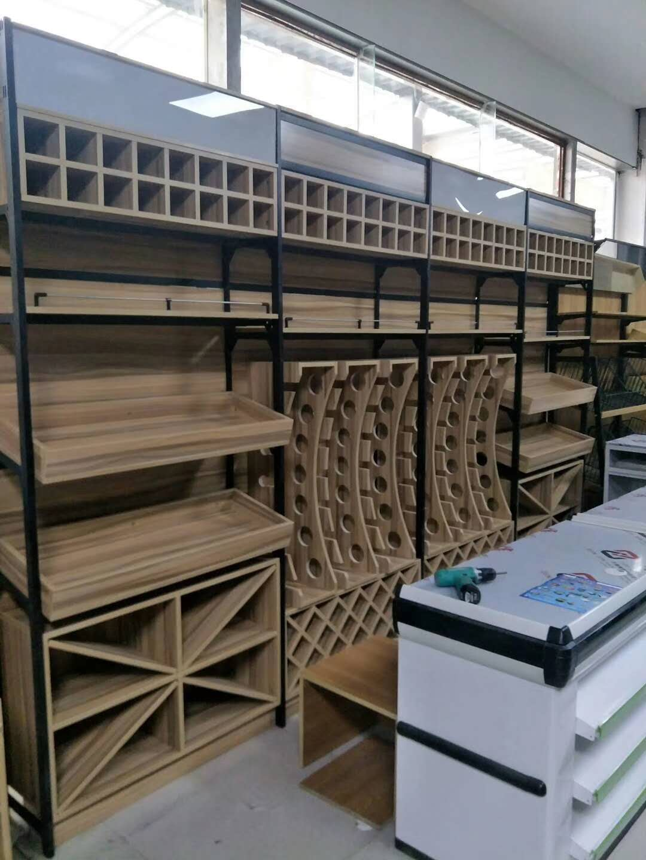 安阳超市钢木货架厂商 在线免费咨询(河南新闻)