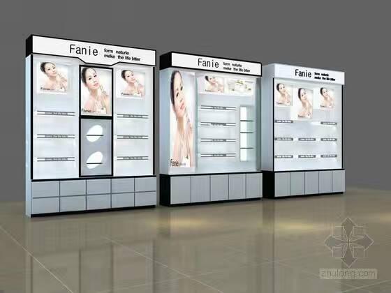 河南化妝品展柜批發    中獻貨架廠家直銷