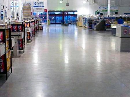 混凝土固化劑地坪與水磨石地坪有什么差異?
