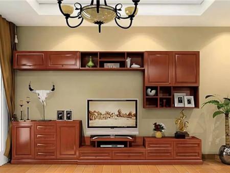 營口金豐木業告訴您實木電視柜選購注意事項和實木電視柜搭配技巧