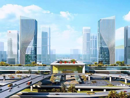 利安达澳门皇冠hg官网手机网页版器设施应用于横琴口岸及综合交通枢纽开拓工程