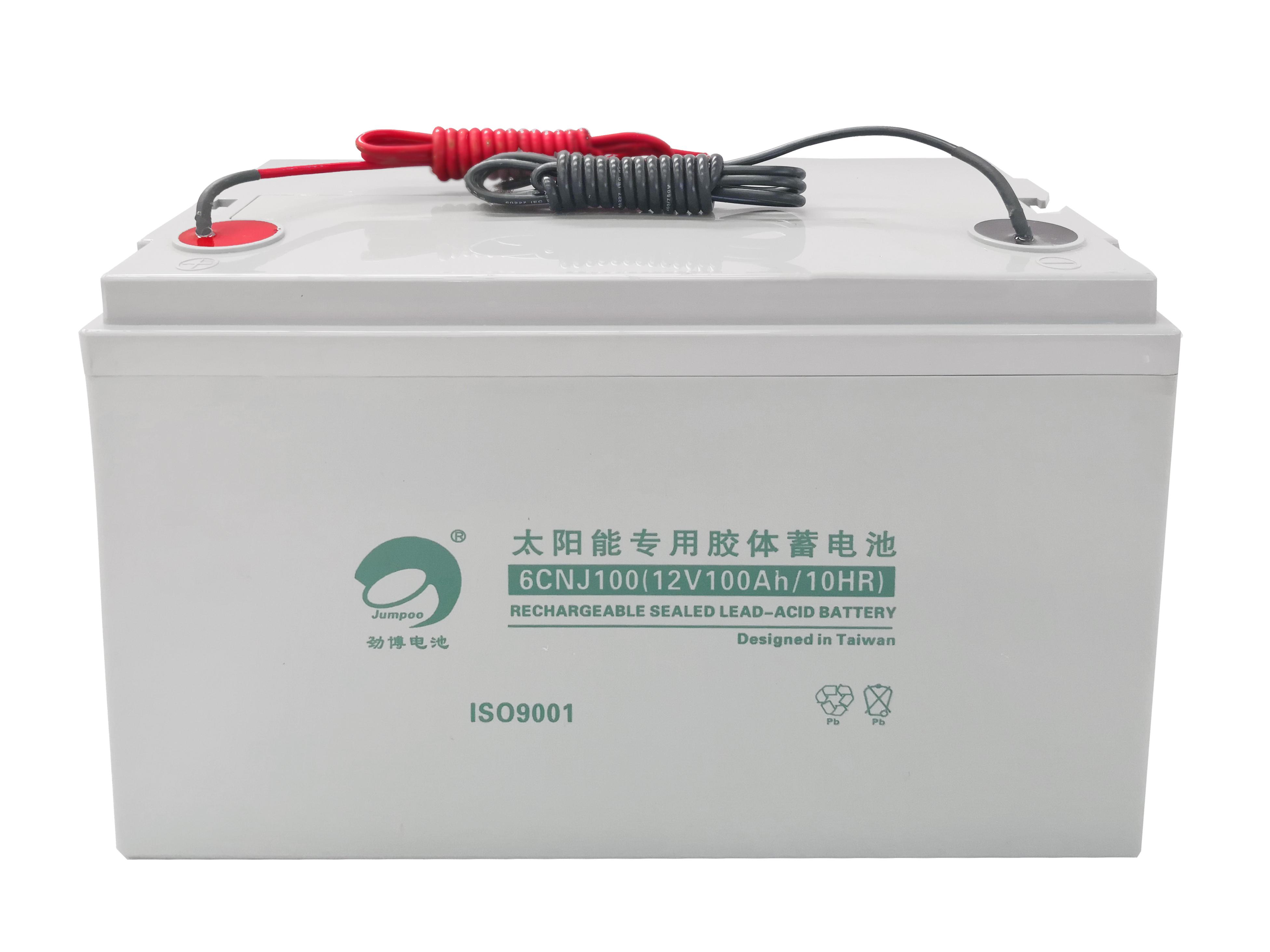 沈阳太阳能专用胶体蓄电池:太阳能路灯蓄电池使用也是有原则的