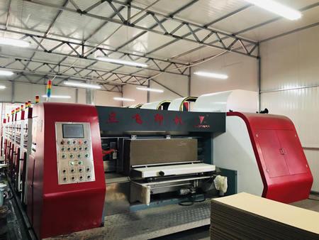 高速五色彩印机