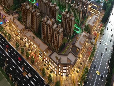 沈阳楼盘建筑模型制作方案