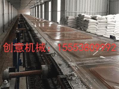 泰安创意机械有限公司-石膏天花板生产机械设备_天花板流水线_全自动石膏板生产线