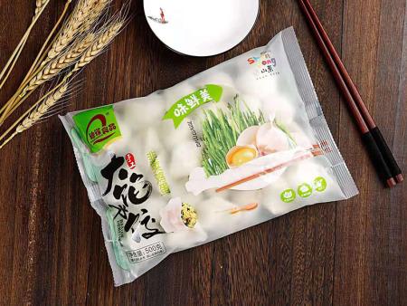 大馅水饺-韭菜鸡蛋 猫先生水饺厂家