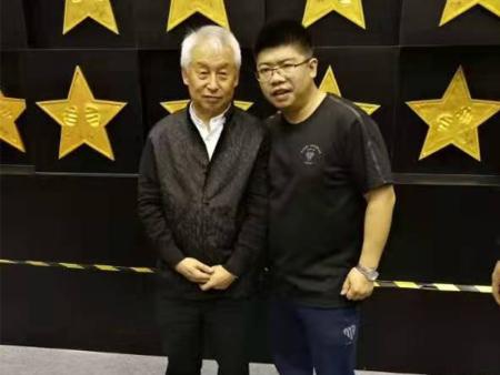 关博教练与拳击国家队主教练张传良老师