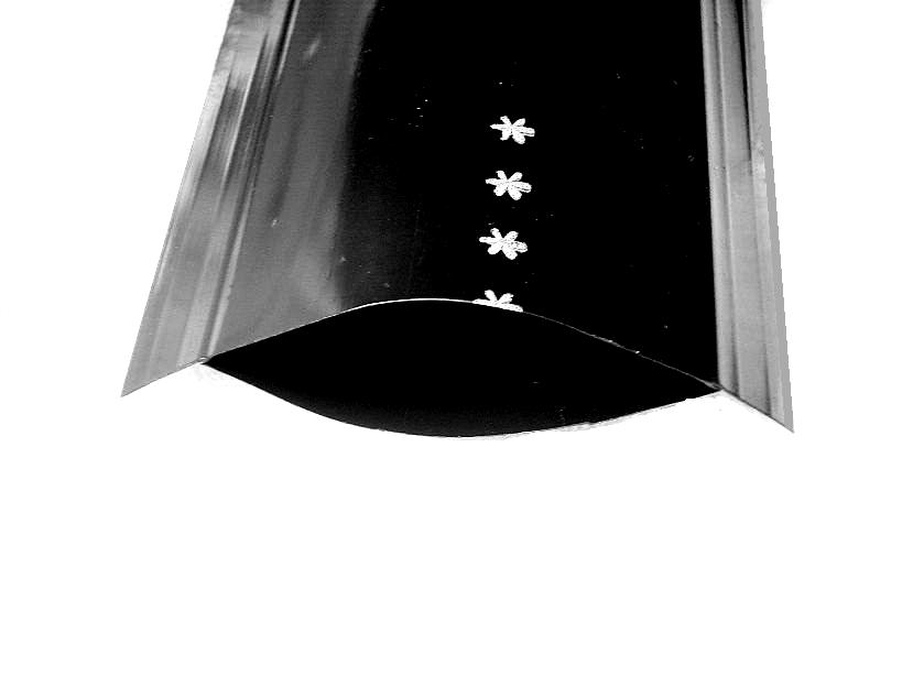 AJ-104福鹿牌双羽喷水管带B级2寸(折宽80mm)*斜7孔*100米台湾制造耐用耐压微喷带喷洒稳定均匀