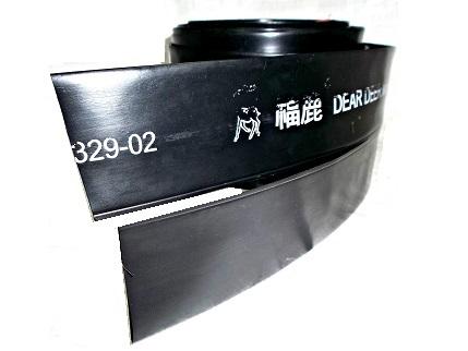 AJ-102 福鹿牌双管式喷水管非常稳定ISO质量认证微喷带,可以保持正确的方向喷水