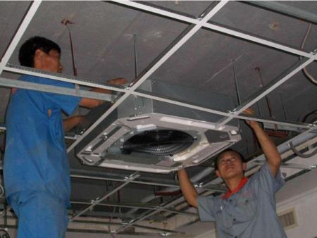 张家口中央空调安装步骤及常见注意事项