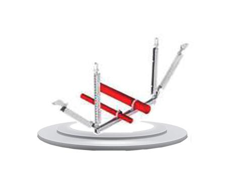 組合管單向抗震支吊架