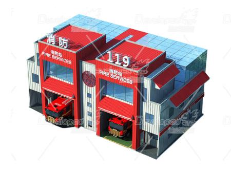 模塊化消防站