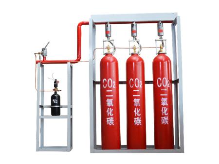 高壓CO2滅火裝置