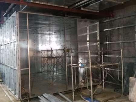 焊接式屏蔽机房施工图