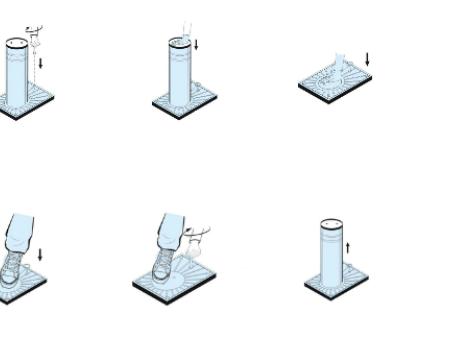反恐升降柱安裝間距規定