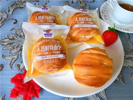 天 然酵母面包-香蕉牛奶风味