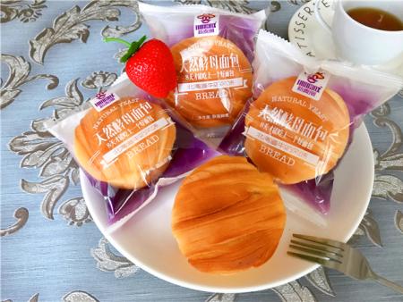 天 然酵母面包-北海道牛奶风味