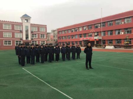 山东坤安保安公司第四季度培训