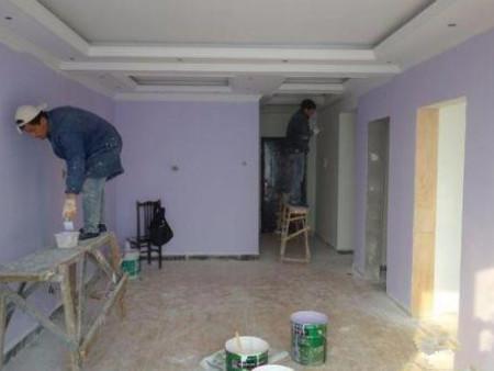 墙面刷新翻新案例