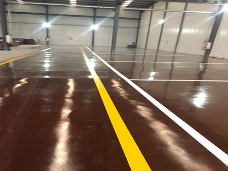 食品厂仓库改造项目:环氧树脂地坪漆地坪