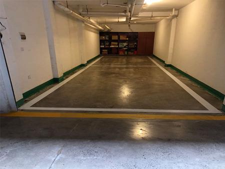 灯塔市金璟花园地下车库改造混凝土密封固化剂地坪