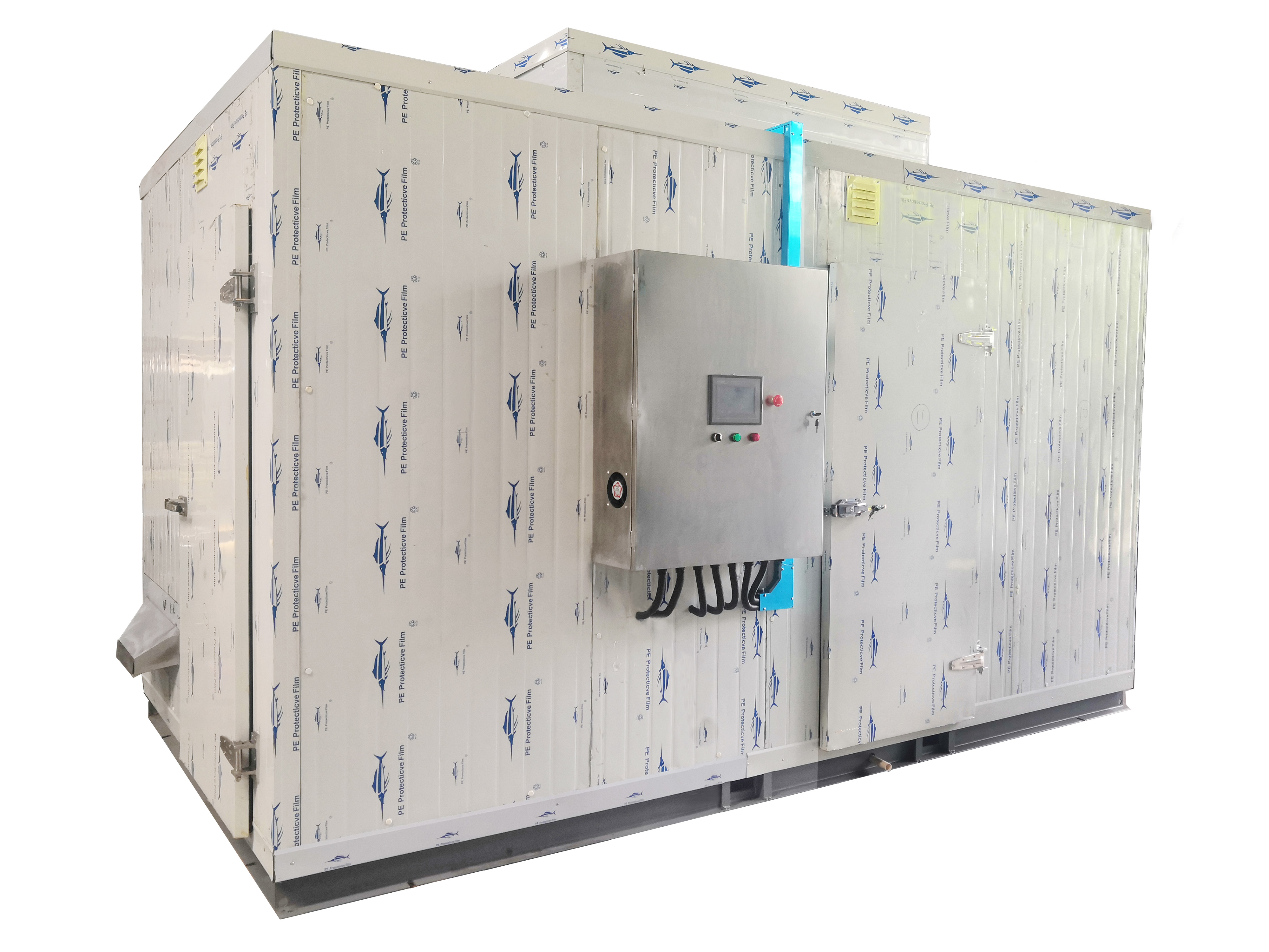 QNG-1.2T带式污泥烘干设备