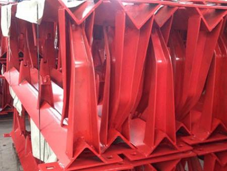 红色烤漆支架
