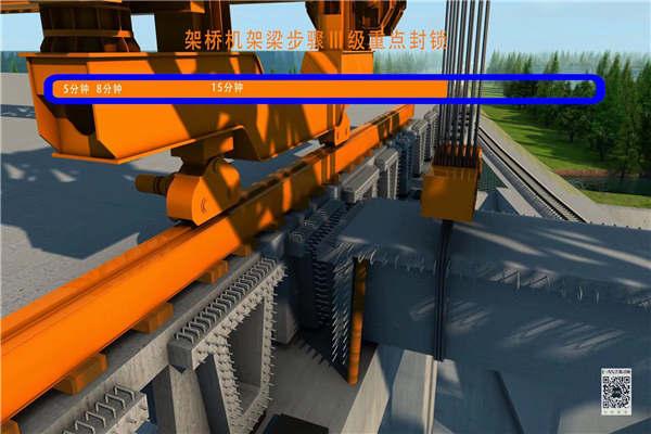 山东威海高架桥施工动画制作