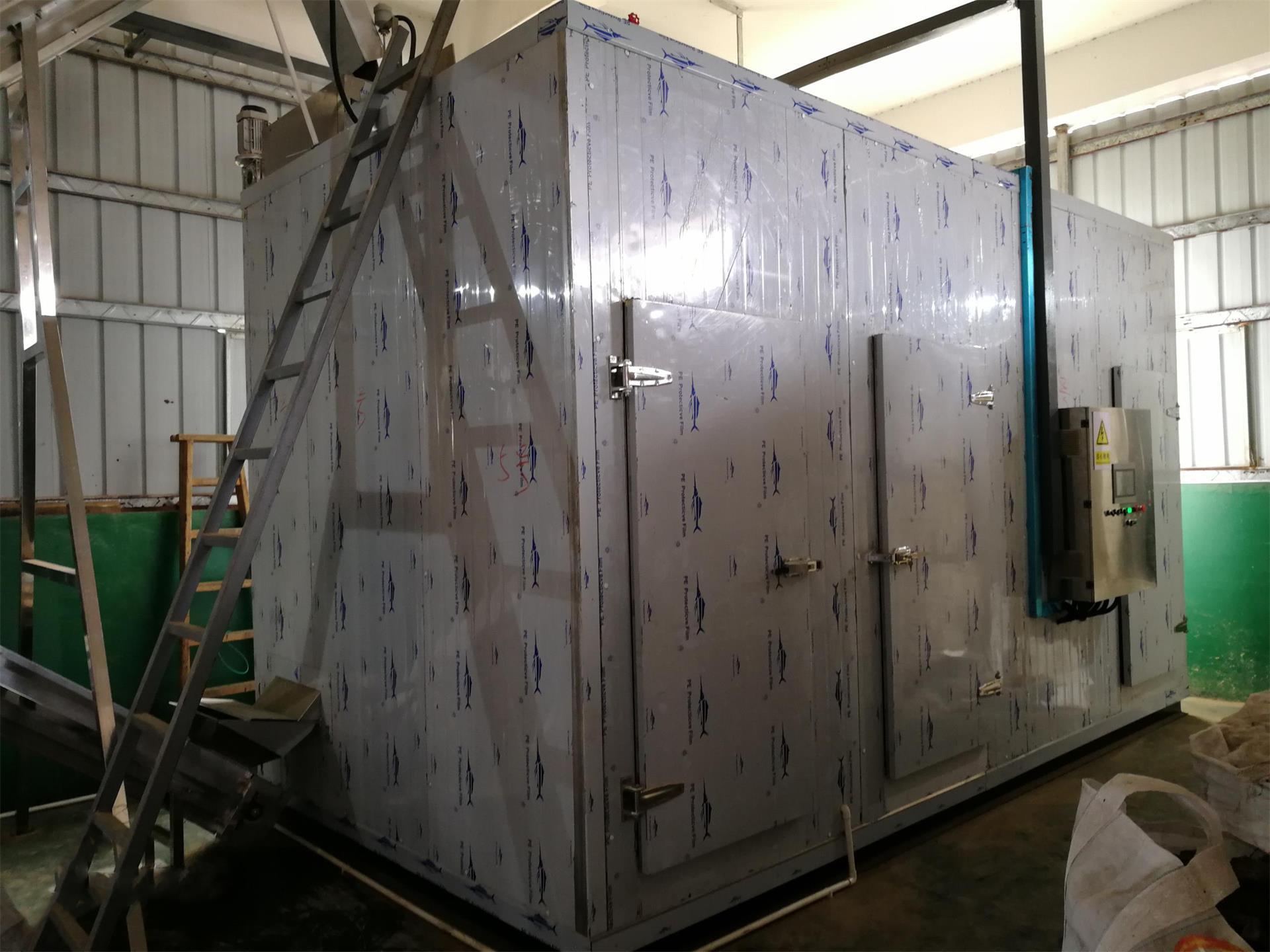 QNG-1.8T帶式污泥烘干設備