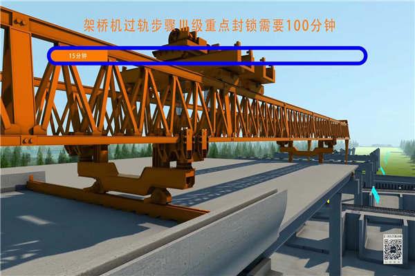 宁夏银川高架桥施工动画制作