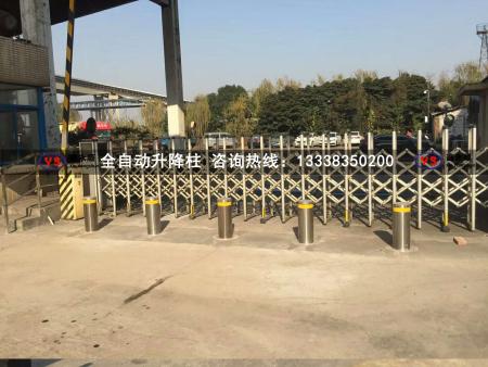 上海第二發電廠阻車升降柱項目順利驗收完成