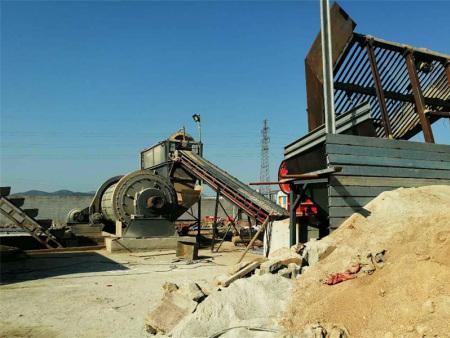 球磨制砂生产线