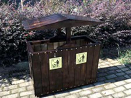 木質果皮箱