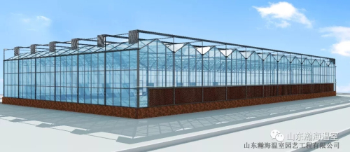 瀚海温室玻璃智能温室大棚施工方案及作用