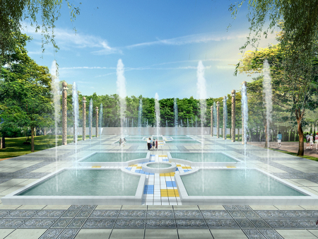 皋兰一中——市政园林景观设计