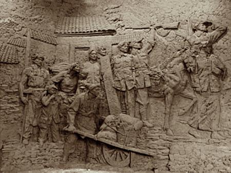 方志敏纪念馆序厅主题浮雕